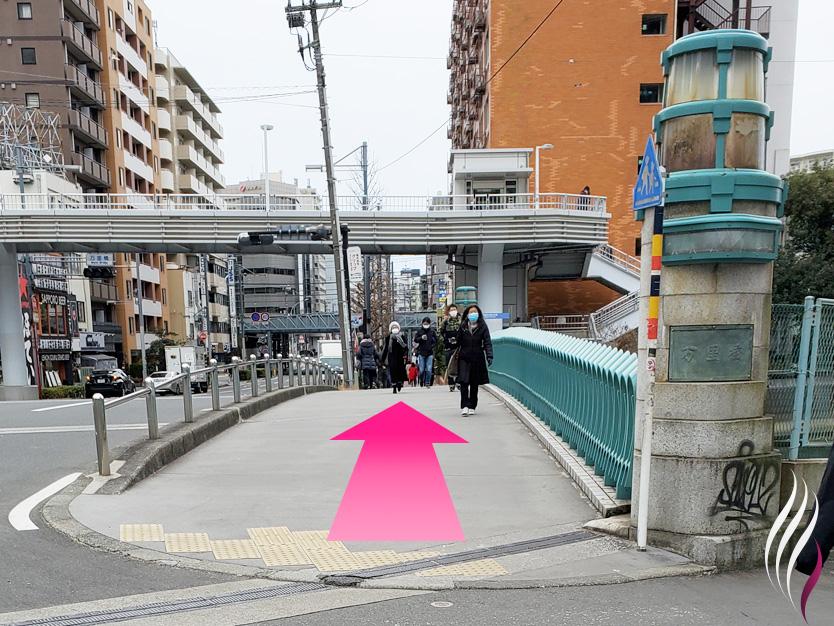 横浜駅からの道順 6